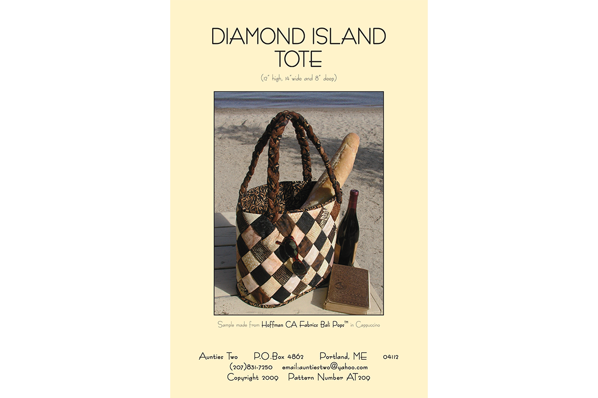 AT209 – Diamond Island Tote