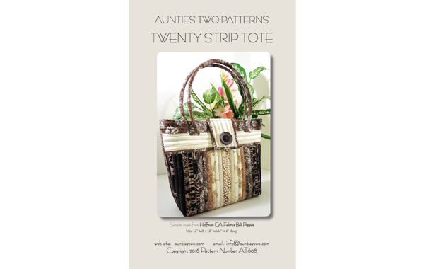 AT608 – Twenty Strip Tote