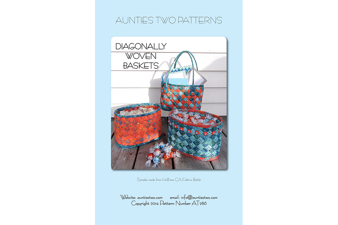 AT286 – Diag. Woven Baskets