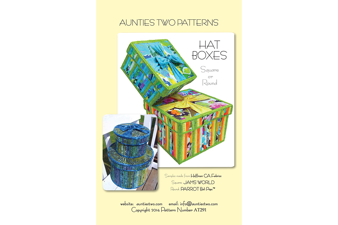 AT291 – Hat Boxes (Square or Round)
