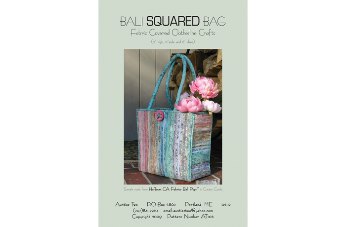 AT104 – Bali Squared Bag