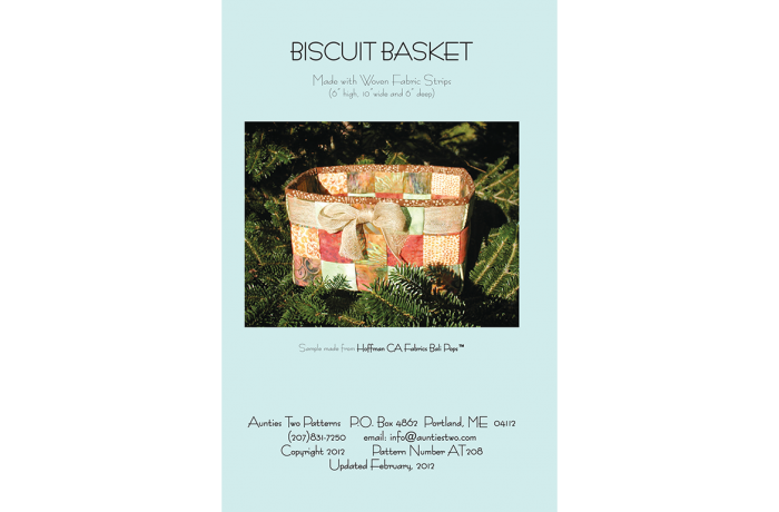 AT208 – Biscuit Basket