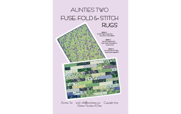 AT634 – Fuse, Fold & Stitch Rugs