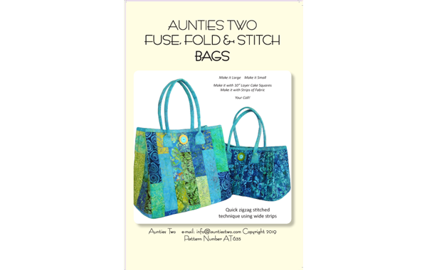 AT635 – Fuse, Fold & Stitch Bags