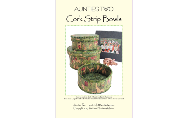 AT644 – Cork Strip Bowls
