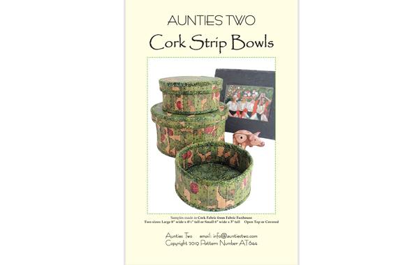 AT644 – Cork Strip Bowls