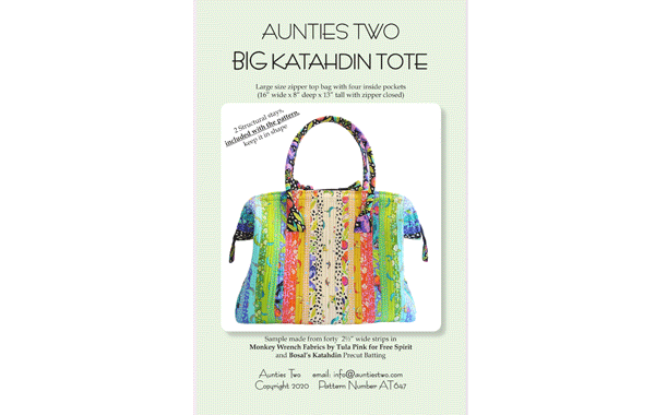 AT647 – Big Katahdin Tote