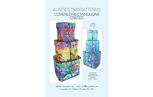 AT662 – Covered Rectangular Crates